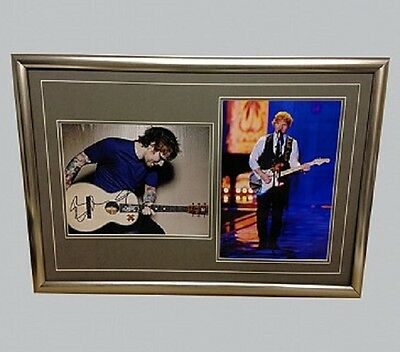 Ed Sheeran Genuine Hand Signed/Autographed Photograph with COA