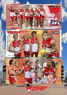 Sydney Swans A4 Poster