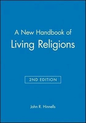 A New Handbook of Living Religions by Hinnells Hardcover Book