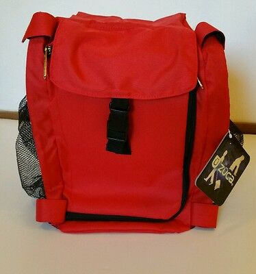 Zuca Sport-insert Bag / color Red - NO FRAME INCLUDED.
