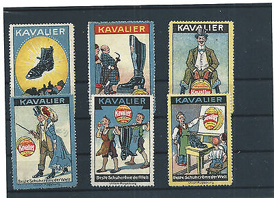 Germany - Nice Lot - Poster Stamps / Cinderellas - Shoes