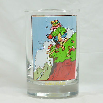 First Flake - Vintage 1982 Arby's Collectors Series Glass by Gary Patterson