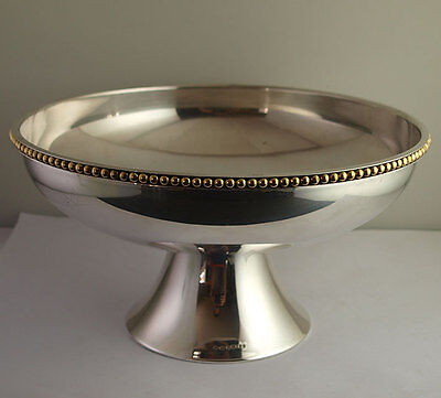 Magnificent Solid Silver Bowl - 1,002g - Mappin & Webb - London 2002