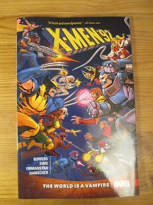 X-Men '92 TPB #1: The World Is A Vampire Marvel Now Comics