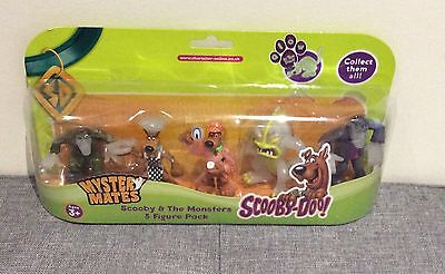 Scooby - Doo Mystery Mates - Scooby & The Monsters 5 Figure Pack
