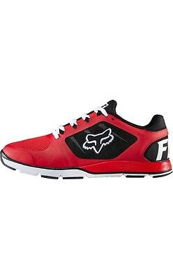 Fox Racing Motion Evo Mens Casual Shoes Red/Black