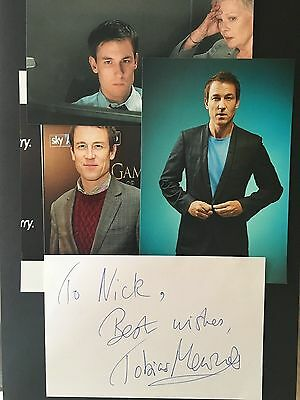 Tobias Menzies hand signed autograph actor