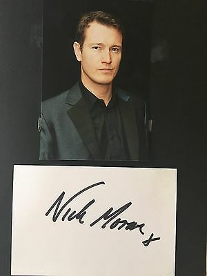 "Nick Moran hand signed autograph actor ""Scabior"" in Harry Potter films"
