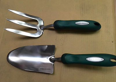Spear And Jackson Garden Hand Fork Hand Trowel Stainless Steel