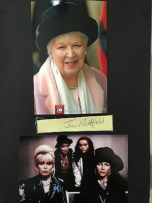 June Whitfield hand signed autograph of the well known British actress