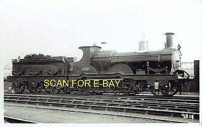Railway Photographic Postcard GWR 439 Class 240 No 440 at Unknown Location