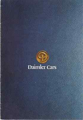 Daimler Range 1978 32 Sided Brochure With Fold Out Pages (75)