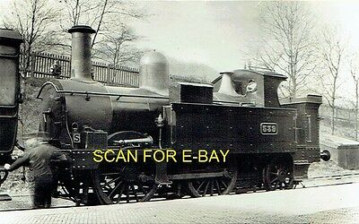 Railway Photo GWR 517 Class 042T No 539 at Dudley c1903