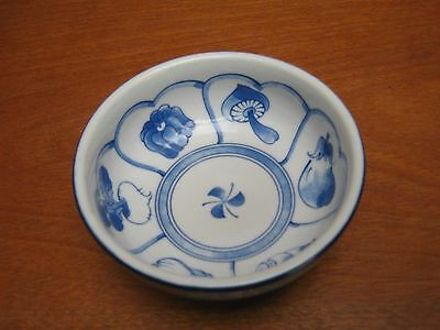 Chinese Blue/white Bowl Signed To Base