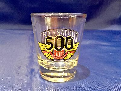 Indy Indiananapolis 500 CENTENNIAL ERA 2011 SHOTGLASS New!