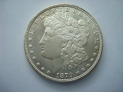 USA Morgan Dollar 1879 CC Carson City United States