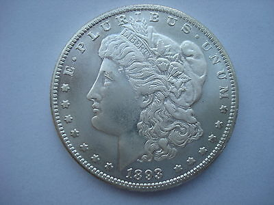 USA Morgan Dollar 1893 CC Carson City United States