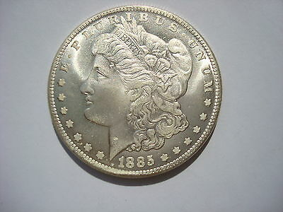 USA Morgan Dollar 1885 CC Carson City United States