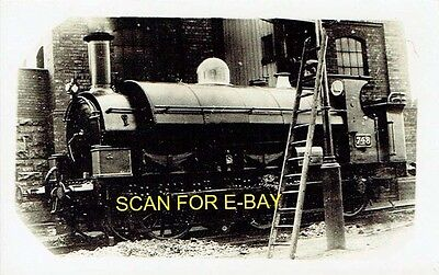 """Railway Photo PC GWR 1076 or """"Buffalo"""" Class 060ST No 748 at Unknown Location"""