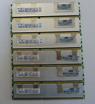 48GB (6x8GB) Apple Mac Pro 2009-2012 Models 4.1-5.1 PC3-10600R ECC DDR3 Memory