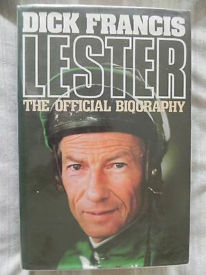 Lester by Dick Francis - The Official Biography of Lester Pigot (1986 1st edn)