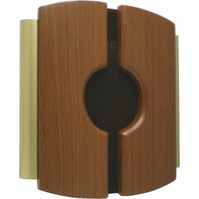 NATURAL OAK Carlon Brass Finished Wood Wired Door Chime