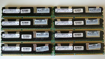 64GB (8x8GB) PC3-10600R ECC DDR3-10600R HP IBM DELL Apple