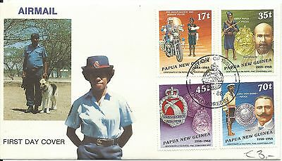 Papua New Guinea - 1988 - Used on FDC - Police