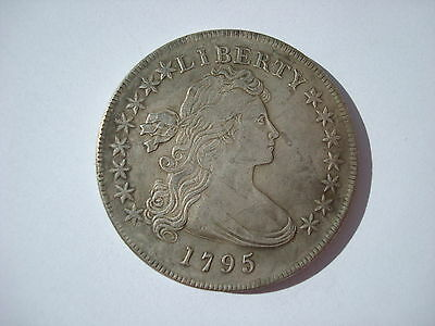 USA Draped Bust Dollar 1795 United States