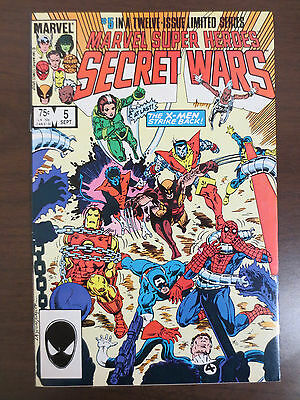 Secret Wars I (1984) #5 Near Mint - to Very Fine   Condition