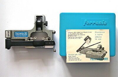 Ferrania 3M Super 8 Film Tape Splicer