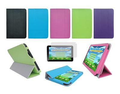 "Folio Skin Cover Case and Screen Protector for Trio Stealth G5 10.1"" Tablet"