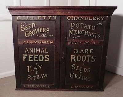 Victorian Painted Cupboard , Farm Shop Country Store, Gillett's London