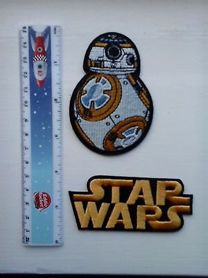 STAR WARS, BB-8  Embroidered  Iron/Sew-on Badge 2x