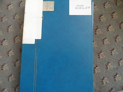 100's usa stamps in large A4 stock book