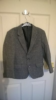 Boys Blazer In Grey, Chest Size 27