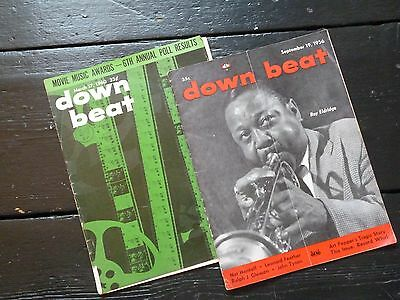 2 Original Downbeat Magazines