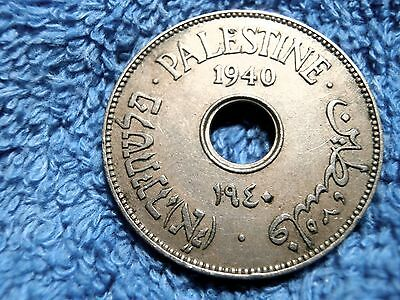 Palestine: 1940  Scarce  10 Mils  Very Fine Plus To Extremely Fine!!