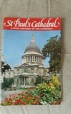 St Paul's Cathedral: A guide prepared by the Cathedral, ,