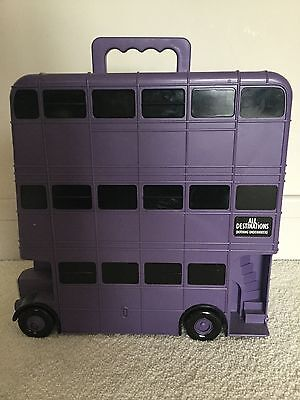 Harry Potter Knight Bus & Bus Conductor Figure -Rare!