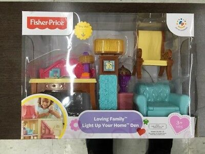 Fisher-Price Loving Family Light-Up Your Home. NEW IN BOX!!!