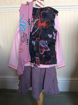 BNWT Girls 4 Piece Outfit By Cakewalk (6 Years) **BARGAIN** RRP £96