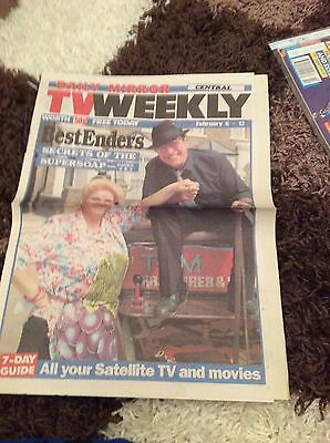 Pam St Clement  (Eastenders) Signed Magazine Article