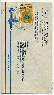 Dominican Republic air mail cover