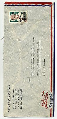 Uruguay air mail cover