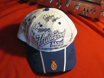 1994 SIGNED HULA BOWL HAT inc. MIKE ROZIER & JIM TRESSEL