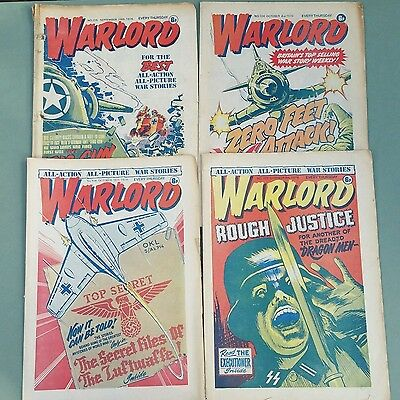 Warlord comics 1976 magazines 16 issues