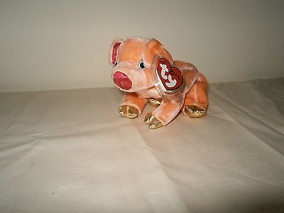 "Ty Beanie Babies  ""pig"" The Zodiac Collection"