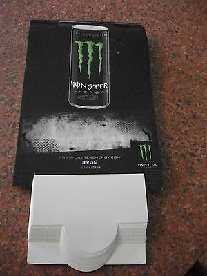 16 Brand New Monster Energy Table Tent Cards