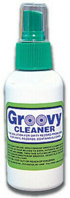 Bags Unlimited Agc-8 8Oz Groovy LP Cleaning Fluid - Accessories